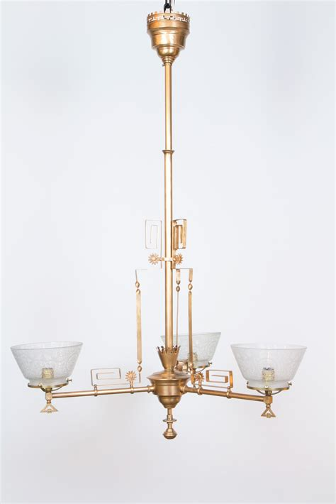 light aesthetic movement chandelier appleton
