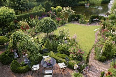 Stilvoll Englischen Garten Anlegen Grten Im Stil
