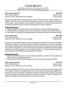 federal it specialist resume exles the best in writing federal resumes
