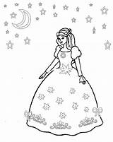 Princess Coloring Pages Dresses Elena Drawing Printable Avalor Sheets Clothes Barbie Princesses Pretty Getcolorings Library Clipart Popular Fancy Butterflies Template sketch template