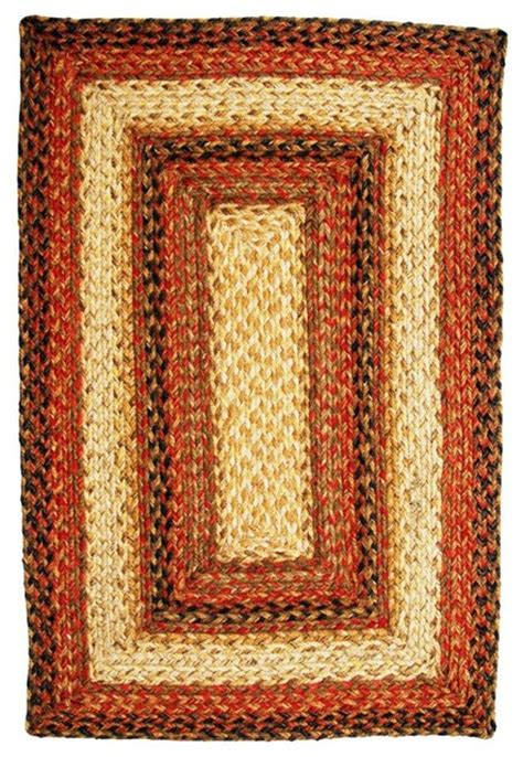 Homespice Decor Jute Rugs by Shop Houzz Homespice Decor Homespice Decor Russet