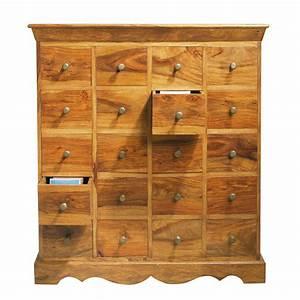 Boite De Rangement Maison Du Monde : meuble cd dvd indien en bois de sheesham massif h 108 cm ~ Preciouscoupons.com Idées de Décoration