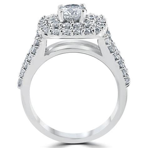 3 Ct Diamond Engagement Wedding Double Cushion Halo Trio. Tungsten Wedding Rings. Brown Wedding Rings. Low Budget Wedding Rings. Blue Lantern Rings. Harley Wedding Rings. Spinner Rings. Rich Person Engagement Wedding Rings. Unique Rectangle Rings