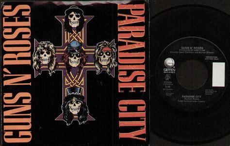 Guns N Roses Paradise City Records, Vinyl And Cds