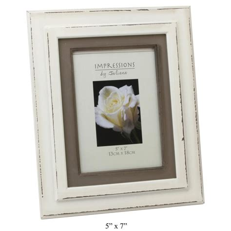 photo frame shabby chic shabby chic distressed cream photo frame 5x7 quot or 6x4 quot by juliana ebay