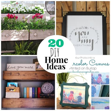 great ideas 20 diy home projects