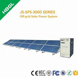 High Quality Portable 3kw Solar Power Generator System For ...