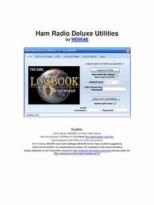 Ham Radio Deluxe Utilities