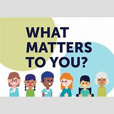 """You're Invited To Join Our New Campaign """"what Matters To You?"""" Day  Patient Voices Network"""