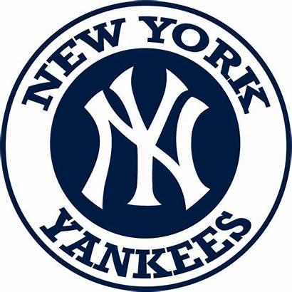Yankees York Ny Nyy Font Baseball Logos