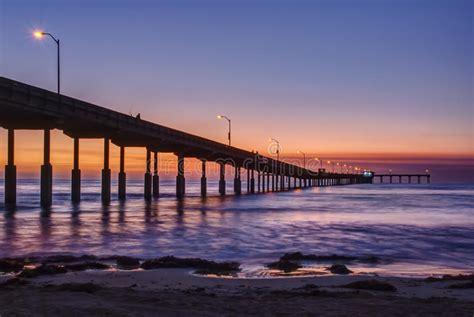 Pier Ocean Beach San Diego California Sunset