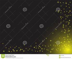 Stars On The Black Background Royalty Free Stock Photo ...