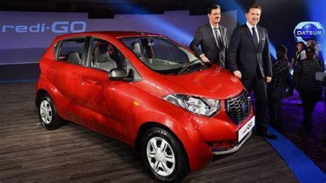 Datsun Motors by Nissan S Datsun Redi Go Launched In New Delhi Price