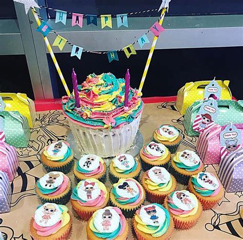 lol surprise dolls birthday cake cupcakes   doll