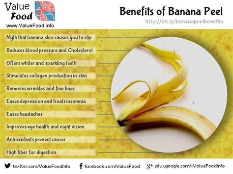 banana benefits health skin peel pdm freckles mogok rid infographics