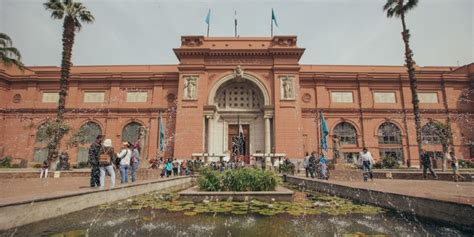 pictures  egyptian museum introduces   path   visually impaired scoop empire