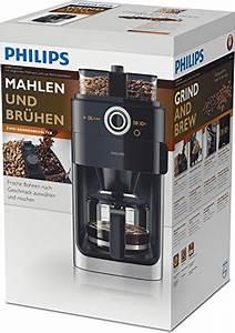 Test Kaffeemaschine Mit Mahlwerk : test philips hd7766 00 grind brew kaffeemaschine mit mahlwerk ~ Somuchworld.com Haus und Dekorationen