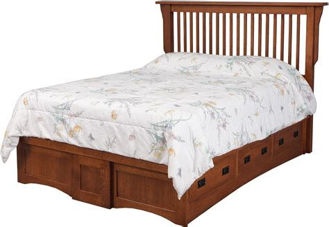 denno 39 s furniture bedding mission pedestal bed w 6 drawers 3 each side by