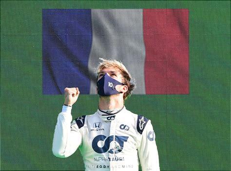 Italian Grand Prix result: Pierre Gasly fights off Carlos ...