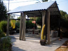 Pic Gt Corrugated Metal Patio Roofing Metal Roof Porch Covers Style