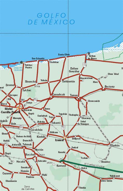 quintana roo mexico map  map  quintana roo mexico