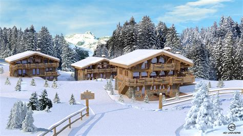 le chalet d en o chalet 224 meg 232 ve 4d univers studio animation 3d architecture 3d visites virtuelles 360