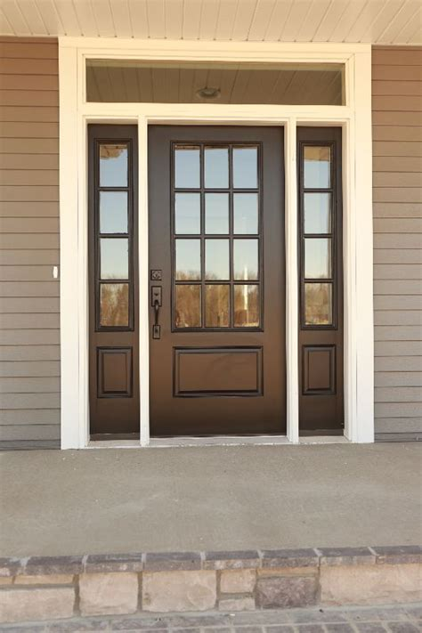 Exterior Door With Window by Exterior Doors What Could Be Better Than A Bright Shiny