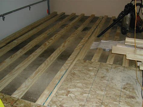 how to level a concrete floor with plywood thefloors co