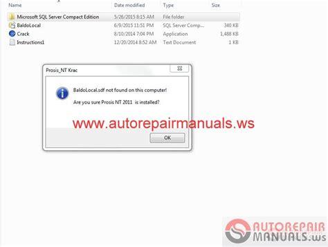 volvo prosis 2013 2015 auto repair manual forum heavy equipment forums
