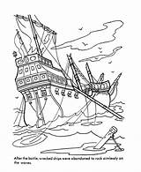Coloring Pirate Ship Pages Pirates Caribbean Sea Ships Printable Boat Pearl Lego Sheets Ghost Sunken Clipart Adult Viking Boats Activity sketch template