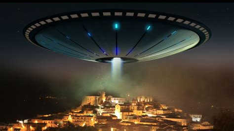 sensazionale disco volante alieno avvistato nella