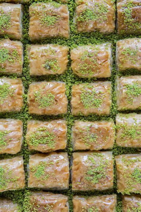 cuisine de turquie baklava de cuisine turque turquie image stock image 54880825