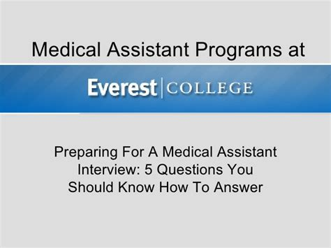 Assistant Questions by Preparing For A Assistant