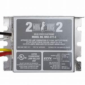 Fulham Wh2-277-c - Fluorescent Ballast