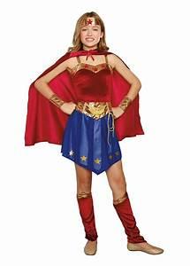 Wonder, Cutie, Tween, Girls, Superhero, Costume