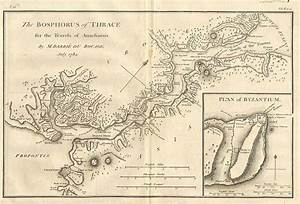 Old Maps, Expeditions and Explorations: Bosporus (Bosphorus)