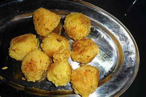 cuisine raclette recette originale recette de croquettes de riz à la raclette