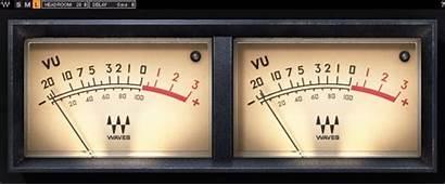 Vu Waves Meter Animated Interface Vumeter Times