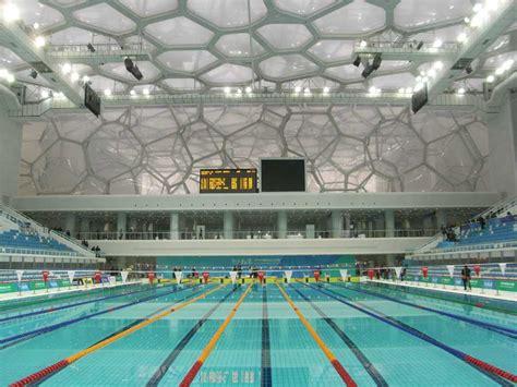 shower soap watercube beijing national swimming centre china e