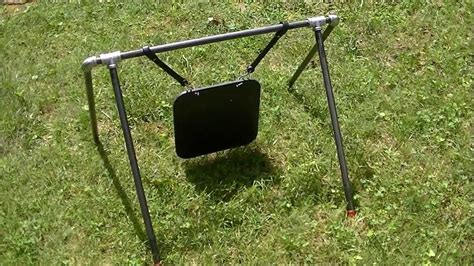 steel target stand  youtube