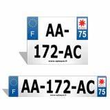 Changer Le Departement Sur Sa Plaque D Immatriculation : plaques d 39 immatriculation personnalis es texte logo no de dept ~ Medecine-chirurgie-esthetiques.com Avis de Voitures