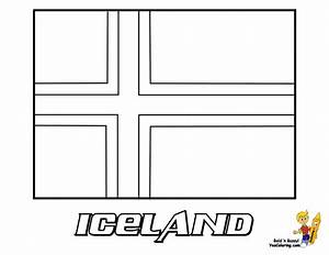 Regal National Flag Coloring Flags Of Iceland