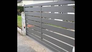 Installer Un Portail : a2p tuquet installation d 39 un portail coulissant motoris ~ Premium-room.com Idées de Décoration