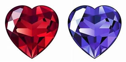 Diamond Transparent Clipart Hearts Heart Clip Vector
