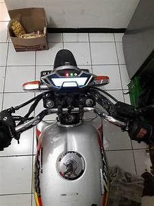 Modifikasi Honda Tiger Pakai Speedometer All New Cb150r