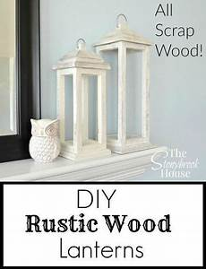 A Great Way To Get Rid Of Scrap Wood ~ DIY Rustic Wood