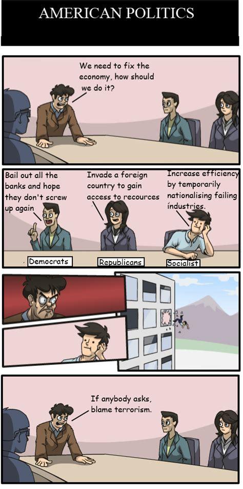 Boardroom Memes - boardroom meeting meme american politics by doctorwho3600 on deviantart