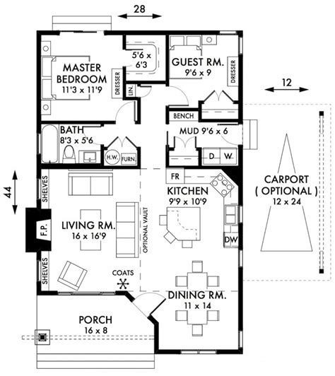 small 2 bedroom floor plans stylish two bedroom house plans to realize awesome two