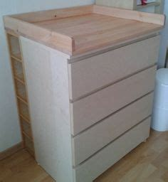 un meuble 224 langer avec du rangement bebe tables and diy and crafts