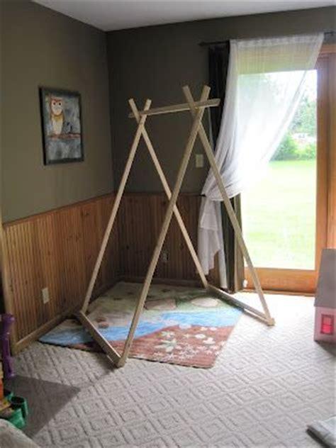 tente de cing 3 chambres structure en bois à faire pour tente d 39 enfants chambre d